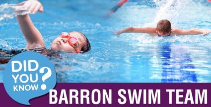 Did You Know We Had A Swim Team?
