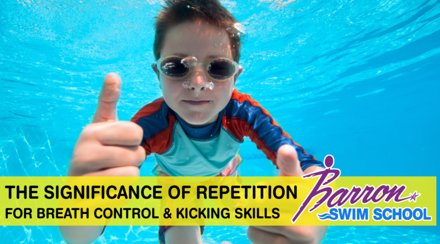 The Significance Of Repetition For Breath Control & Kicking Skills