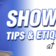 Shower Tips & Etiquette