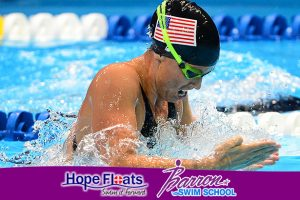 7-Time Olympic Medalist Amanda Beard Joins Forces With Barron Swim School & Hope Floats Foundation